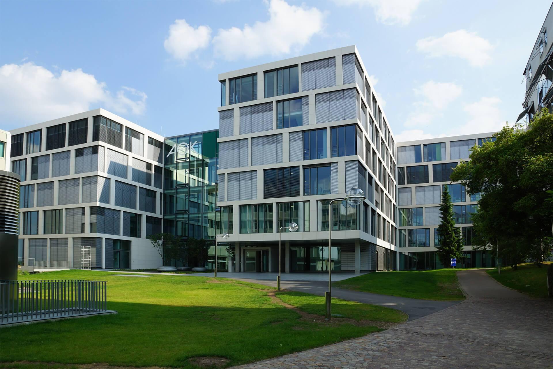 Stuttgart, Neubau der AOK, Verwaltungsgebäude