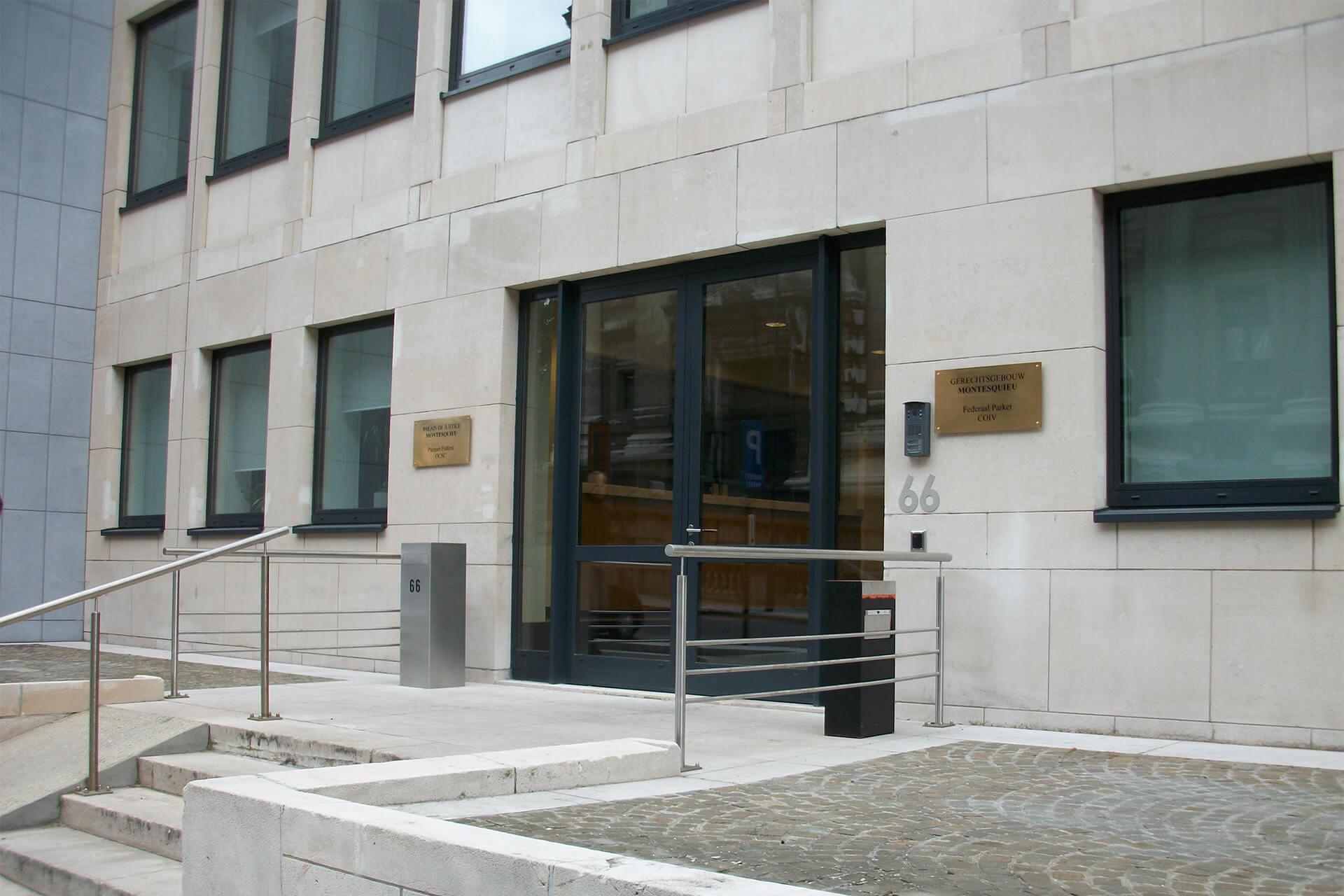 Brüssel, Justizpalast, Verwaltungsgebäude