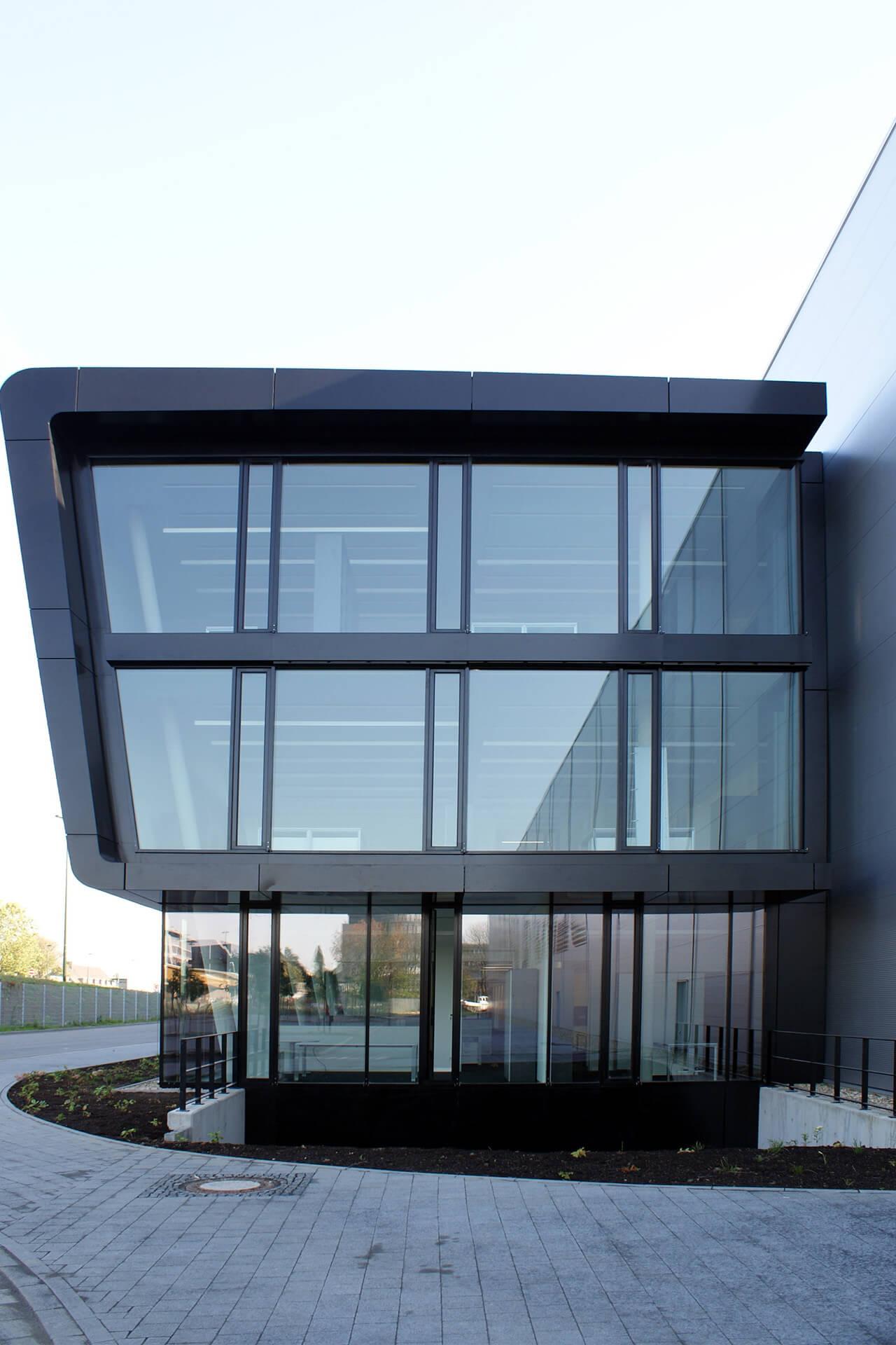 Darmstadt, Hessenmetall, Schulungs-u. Seminargebäude