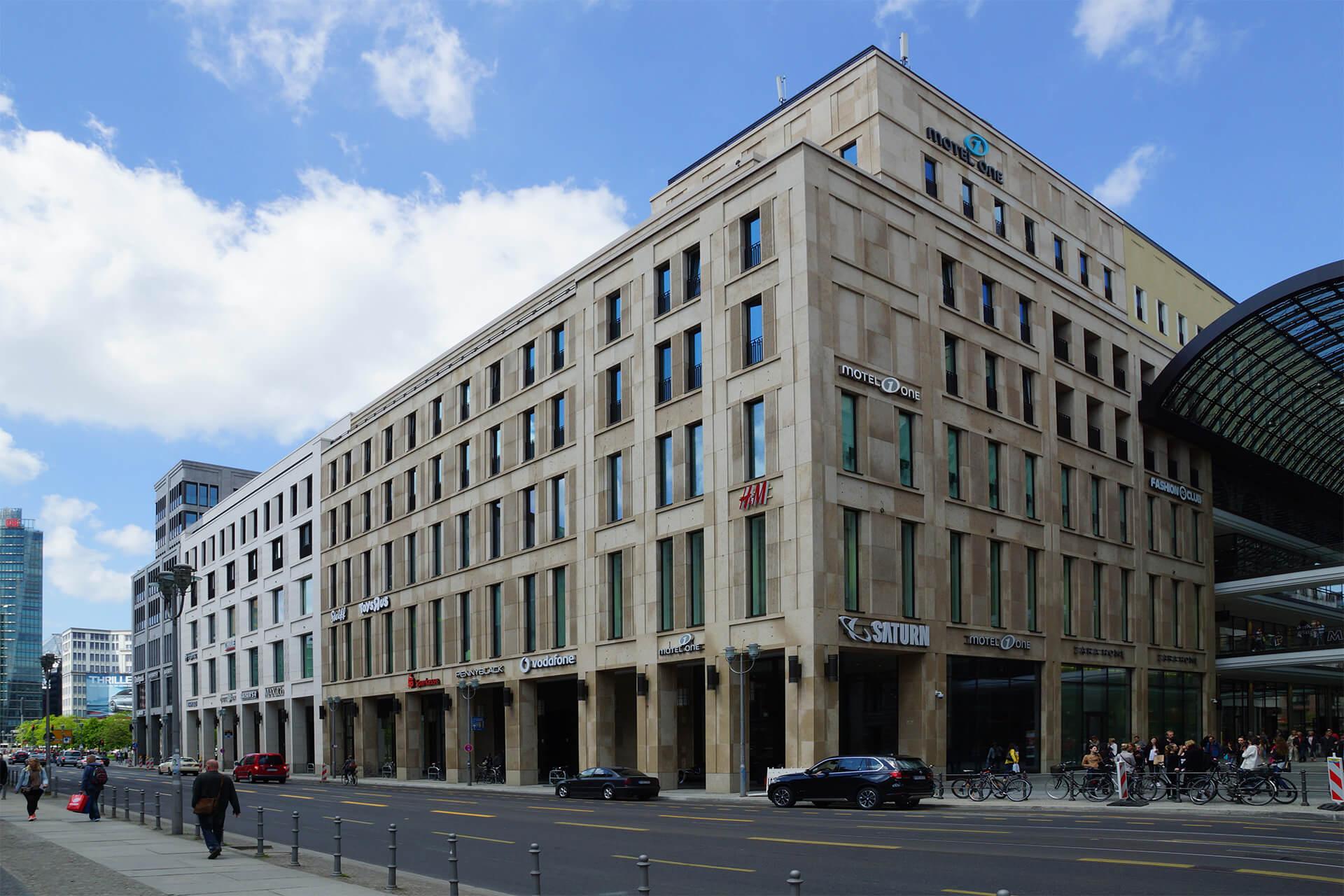 Berlin, Leipziger Platz 12, Shoppingcenter