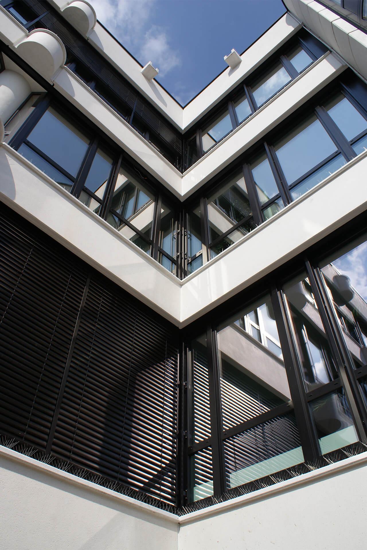 Rheine, Rathaussanierung, Verwaltungsgebäude