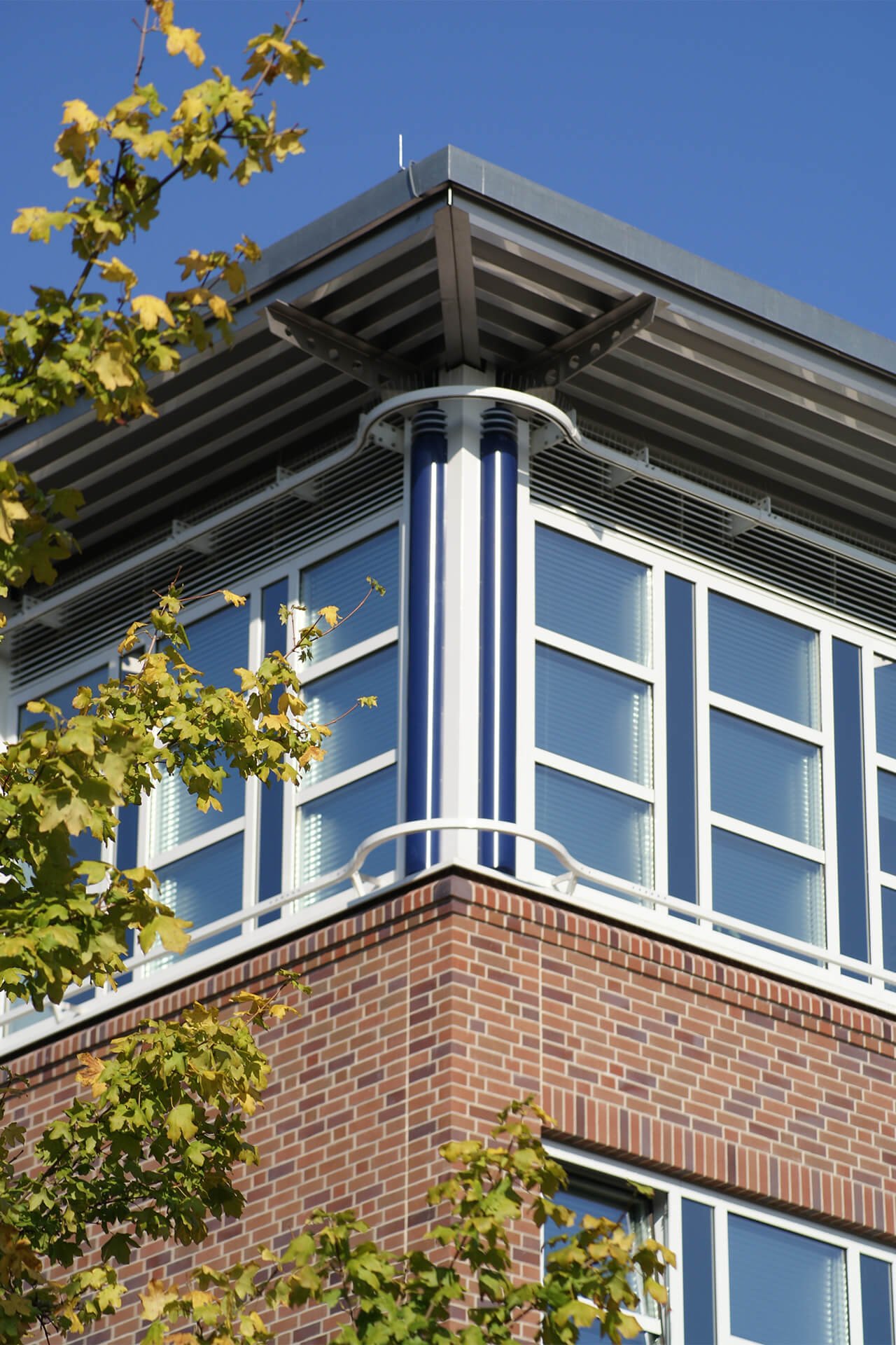 Münster, Neubau der Sparkasse-Informatik, Bürogebäude